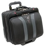 "Wenger Granada 17"" eleganter Business Wheeled Trolley für Notebooks schwarz"