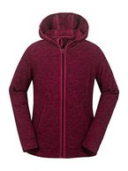 aparso Damen Fleecejacke Fleece Pullover Fleeceshirt Fleece Space Dye melange warm (Pink, M)