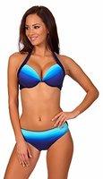 aQuarilla Damen Bikini Set Barbados (Navy/Blau, 36)