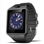 Padgene Smartwatch Armbanduhr Bluetooth Kamera kompatibel mit Android Samsung HTC Sony LG Huawei Motorola smartphopne- mit Spezialangebote (Schwarz)