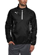 PUMA Herren Windbreaker, black-white, L, 653976 03