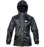 Cox Swain 2-Lagen Damen Outdoor Funktions Regenjacke - 3.000mm Wassersäule -3.000mm Atmungsaktivität, Farbe: Black, Größe: M