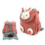 Babyrucksack Kindergartenrucksack Kindergartentasche Backpack Schultasche Kinder (orange)