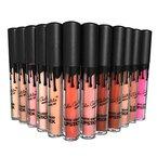 MagiDeal 12 Farben Matt Wasserdicht Lipgloss Set - Long-Lasting, Moisturizing, Flüssigkeit Lippenstifte