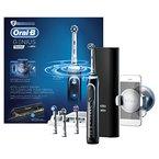 Oral-B Genius 9000 Black Elektrische Zahnbürste, mit Positionserkennung, Bluetooth, Timer und Lade-Reise-Etui, schwarz