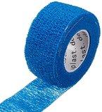 5 x Pflaster ohne Kleber, Fingerverband, Pflasterverband, Fingerpflaster, 2,5 cm, blau