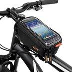 """Ibera Fahrrad-Rahmentasche, Lenkertasche, Handytasche für 6"""" Bildschirm, Top Tube Bag for 6"""" Cell Phone Screens"""