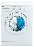 Beko WML 15106 NE Waschmaschine Frontlader / A+ / 168 kWh/Jahr / 1000 UpM / 5 kg / weiß / Programmablaufanzeige / Mini 30-Programm