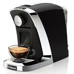 Tchibo Saeco Cafissimo Tuttocaffè Kapselmaschine für Kaffee, Espresso und Caffè Crema, Nero