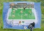 Tortendeko Fußball 15 teilig Tortenaufleger Kindergeburtstag Kuchen Deko Fußball