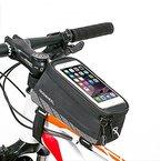 [Update Version] ieGeek Frame Bag lenkertasche Fahrradtasche mit Handy-Platz für Iphone 6 Plus 6S 6 5S 5SE SAMSUNG Galaxy S7 edge S6 edge Galaxy NOTO5 NOTO4 und andere Telefon von klein als 5,7inch 1,9L
