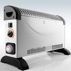 Heizgerät mit Frostwächter 12Std Timer 2000W Konvektor Heizer Radiator Heater Elektrische Heizung Elektroheizung