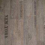 PVC Bodenbelag Rustikal Grau mit Aufdruck Breite 4 m (9,95 € p. m²)