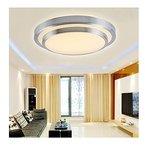 SAILUN 18W Panel LED Warmweiß Deckenleuchte Runde LED Deckenlampe Wandlampe Panal Lampe Energiespar Flurlicht für Wohnzimmer Lampe Schlafzimmer Küche Licht