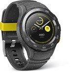 Huawei Smartwatch 2 mit Bluetooth, Sport Band concrete-grau
