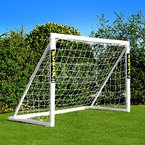 FORZA - 1,8 x 1,2 m wetterfestes Fußballtor, 1 Jahr Garantie! (1.8 x 1.2m Fußballtor Mit Tasche) [Net World Sports]