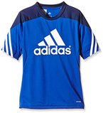 adidas Kinder Trikot/Teamtrikot Fußball bekleidung Sere14 Trainings jersey, bold blau/dunkel blau/Weiß, 116, F49695