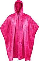 Unisex Regenponcho / Regencape für Erwachsene Einheitsgröße Regen Poncho Vinyl Gr. 200 x 127 cm Farbe Pink