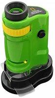 National Geographic 9119600 Kompaktes Handmikroskop 20x bis 40x Vergrößerung grün