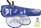 VICFUN Hobby Badminton Set Advanced, Blau, One size, 796/2/2
