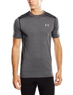 Under Armour Fitness Raid Short Sleeve Tee Herren Fitness - T-Shirts & Tanks, Carbon Heather, M, 1257466