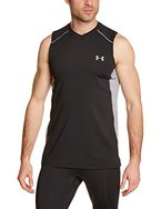 Under Armour Herren Fitness T-Shirt und Tank Raid Sleeveless Tee, Black, L, 1257467