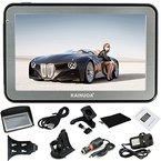 Kainuoa® 5 Zoll 8GB  Europe Traffic GPS Navi Navigationsgerät Navigationssystem mit kostenlosen lebenslangen Kartenupdates für ganz Europa für KFZ Auto Car Taxi Fahrspurassistent Sprachführung  Blitzerwarnungen