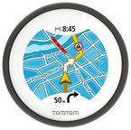 TomTom Vio Motorroller-Navigation (6,1 cm (2,4 Zoll) Display, Europa Karten, Radarkameras auf Wunsch, Anruferanzeige schwarz)