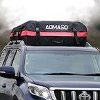 Aomaso Auto Dachträger Wasserdicht Dachgepäckablage 10kubikfuß Aufbewahrungsbox Dachbox für Reise und Gepäcktransport