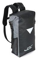 JDC Motorrad Rucksack 100% wasserdichte Tasche 30L - Schwarz / Grau