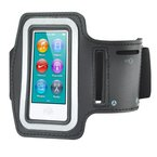 TRIXES Sportarmband mit Tasche für iPod Nano 7 & Key in Schwarz