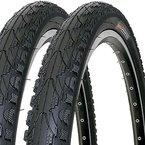 2 x Fahrradreifen Kenda Pannensicher 26 Zoll 26x1.75 47-559 K935 K-Shield inklusive 2 x Schlauch mit Autoventil