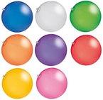 CMG R510X Wasserball Strandball ca. 26cm Wasserspielzeug TRANSPARENTE Farben (R518 Blau)