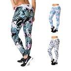 Sport-Leggings für Damen in tollem Design | Leggins, Sport-Hose, Trainings-Hose für Frauen mit elastischem Bund | Sportbekleidung in bequemen Schnitt für eine tolle Figur | WOMEN'S BEST - Paradise (S)