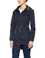 ONLY Damen Jacke Onlolga Parka Jacket Otw, Blau (Blue Graphite), 40 (Herstellergröße: L)