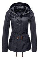 ONLY Damen Jacke Onllorca Spring Parka Jacket CC Otw, Blau (Blue Graphite), 38 (Herstellergröße: M)