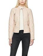 ONLY Damen Jacke Onlwilma Faux Leather Jacket CC Otw, Rosa (Cameo Rose), 36
