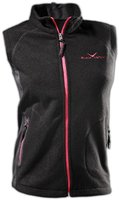 Black Canyon Damen Gilet Weste Fleece, schwarz, 38, BC4356