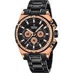 Festina Herren-Armbanduhr Chronograph Quarz Edelstahl beschichtet F16972/1