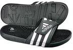 adidas Adissage, Herren Dusch- & Badeschuhe, Schwarz (Black/Black/Running White Ftw), 44 2/3 EU (10 Herren UK)