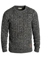 SOLID Philemon Strickpullover, Größe:M;Farbe:Black (9000)