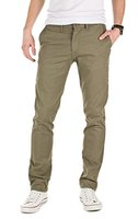 Yazubi Herren Chino Hose, Modell Kyle, by YZB Jeans, military green (201601), W36/L36