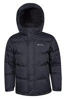 Mountain Warehouse Snow gepolsterte Juniorjacke Schwarz 152