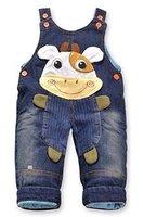 Jeans Latzhose 'Kuh'| Baby Hose, Größe:18-24 Monate