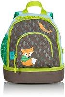 Lässig Mini Backpack Kinderrucksack Kindergartentasche, Brotdosenfach unten, Little Tree Fox