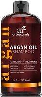 Art Naturals Organisches Arganöl Shampoo Haarwachstums-Therapie 473 ml, Sulfat-frei - Beste Behandlung bei Haarausfall - Für dünner werdendes & alterndes Haar - Ideal für Männer & Frauen - Angereichert mit Biotin - 3 Monatsvorrat