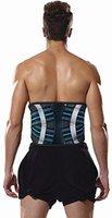 Bonmedico® Virto, die atmungsaktive Rückenbandage mit Korsettstäbchen zur Entlastung des Lendenwirbels, mit 2 Gurten zur optimalen Kompression, zum Schutz und Behandlung von Rückenleiden, stabilisiert die Wirbelsäule bei der Arbeit oder beim Sport, für Damen und Herren (M)