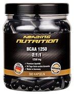 BCAA 2:1:1 - 1250mg pro Kapsel - Hochdosierte Verzweigtkettige Aminosäuren - ideal für Gewichtsreduzierung und das erholen deiner Muskeln vom Training - 2,5 Monatspackung (300 Kapseln)