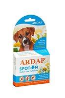 Quiko 077310 Ardap Spot on  Zecken und Flohschutz für mittelgroße Hunde, 10 - 25 kg