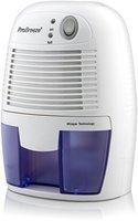Pro BreezeTM 500ml kompakter und tragbarer Mini Luftentfeuchter gegen Feuchtigkeit, Schmutz und Schimmel zu Hause, in der Küche, im Schlafzimmer, Wohnwagen, Büro und Garage